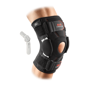 KNEE SUPPORT BRACE WITH DUAL DISK HINGES