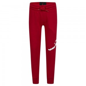 KIDS' AIR JORDAN JUMPMAN LOGO PANTS 'RED'